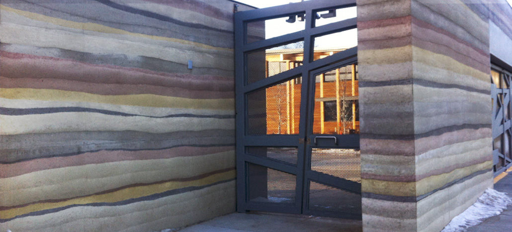 I Have Too Much Dirt How About Rammed Earth