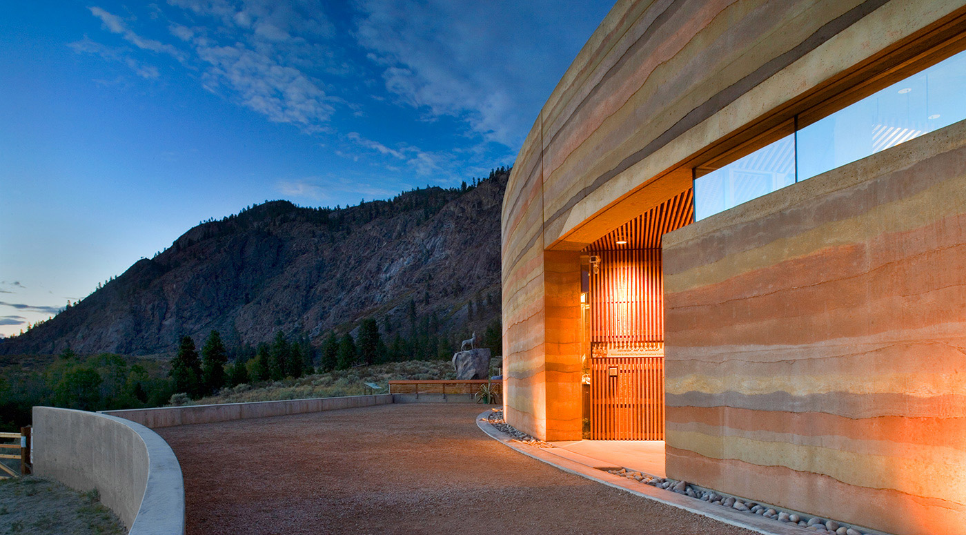 Sirewall structural insulated rammed earth the art and for Adobe house construction cost