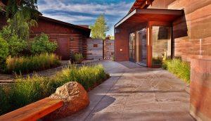 sublette-county-library-entrance-garden