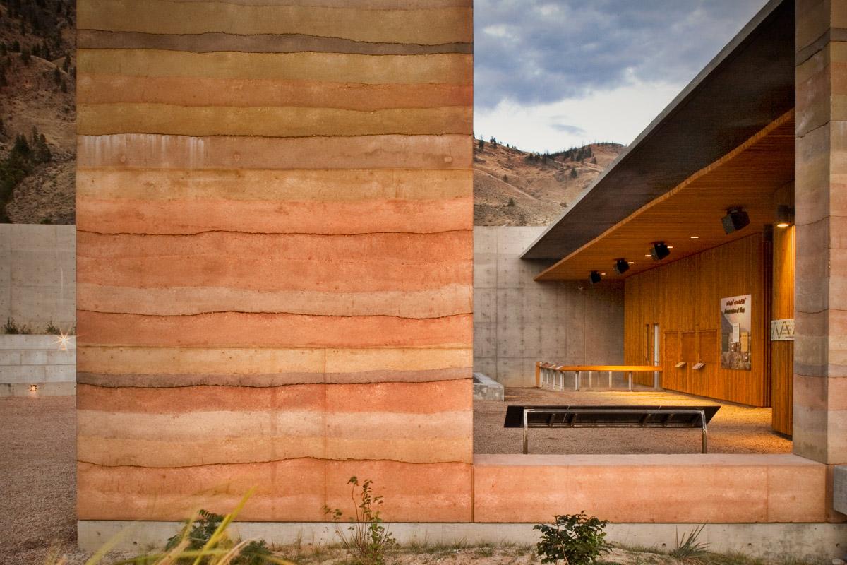 Nk Mip Desert Cultural Centre Sirewall Structural